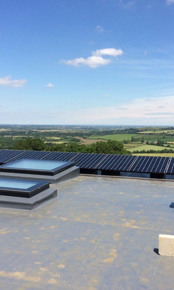 South Warwickshire Flat roof Solar